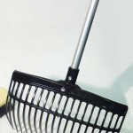 rake with handle