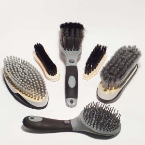 black brushes