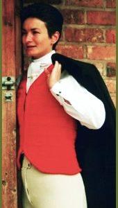 waistcoat red