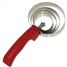 spiral curry comb