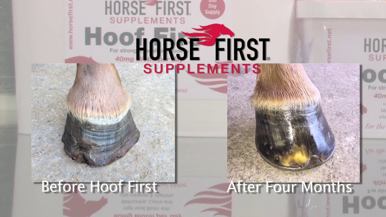 hoof before and after