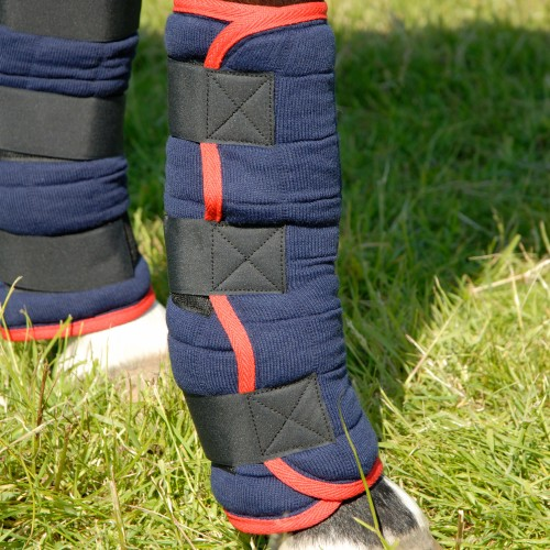 Purple Thermatex Rug: Thermatex Quilted Stable Boots (Set Of 4) LWT