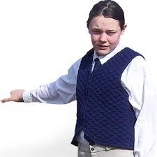 rider waistcoat royal blue