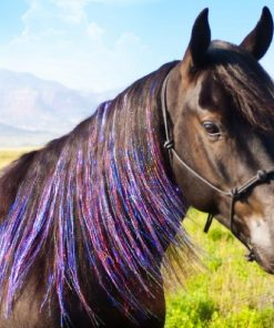 horse hair extension