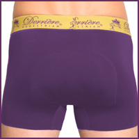 Performance Bonded Padded Shorty - Male - Purple