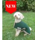 Open front dog coat New